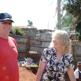 Gary and Kathy in Kenya